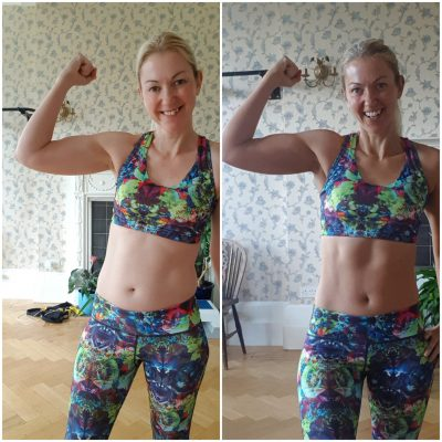weight loss transformation photos - muscle definition before and after