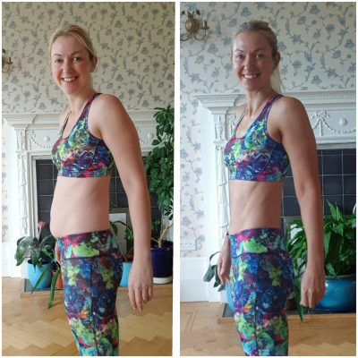 weight loss transformation - belly fat
